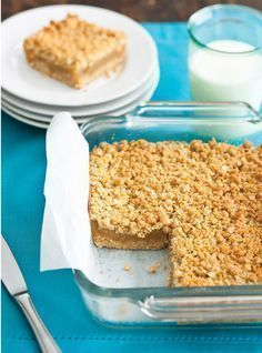 Ricardo Cuisine helps you find that perfect recipe for rocky road brownies, maple pecan crumble, oat and honey granola bars, and more. Apple Recipes, Fall Recipes, Sweet Recipes, Apple Square, Ricardo Recipe, Biscuits, Food Inspiration, Love Food, Food To Make