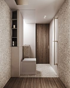 Restroom Design, Bathroom Interior Design, Timber Staircase, Tiny Apartments, Modern Wall Sconces, H & M Home, Ideas Geniales, Small House Design, Elle Decor
