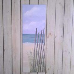 Acrylique sur toile 1m20X40cm