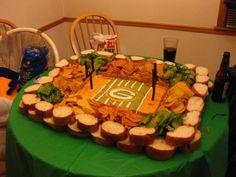 Green Bay Super Bowl Food Stadium---but BOOOO PACKERS