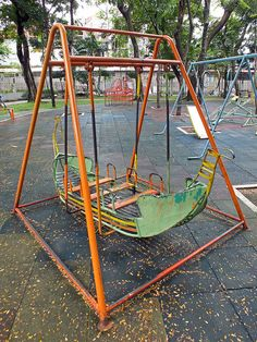 Playground - Boat Swing by Horst Kiechle, via Flickr