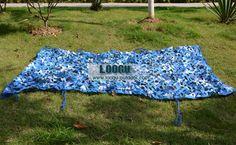 1.5m*2m NCN-B030 Navy blue Military Netting Sun Shelter Camouflage Net Woodlands Leaves netting