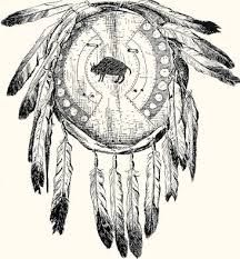 Blackfoot shield, artist and date unknown.