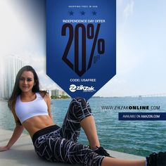 INDEPENDENCE DAY OFFER ☆☆☆👉20% OFF 👈☆☆☆ available on http://Amazon.com  😉 #OFFER #outfit #sportswear #leggings