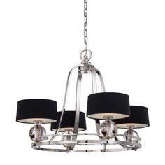 Lampa Klasyczna Żyrandol 4pł GOTHAM QUOIZEL (6385477916) - Allegro.pl - Więcej niż aukcje.