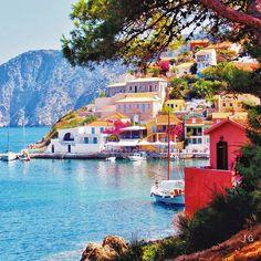 Assos village, Kefalonia # IonianSea #GREECE