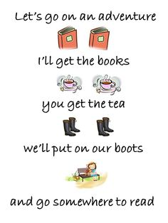 Sounds like a plan to me! re-pinned by: http://sunnydaypublishing.com/books/
