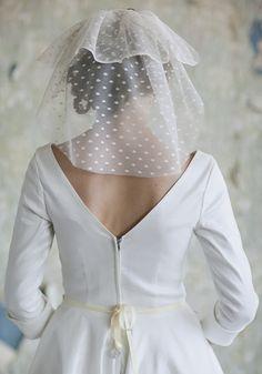 Polka Dot Veil