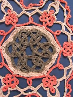 Someday, I really have to learn to crochet...   Celtic Knot Crochet