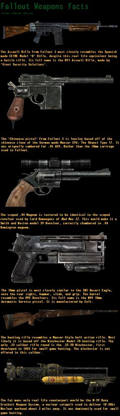 Fallout 3 weapons