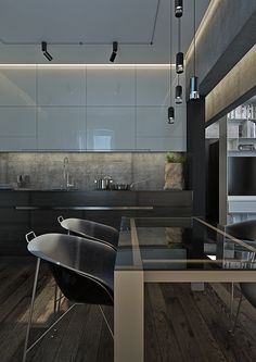 Small_Moscow_apartment on Behance