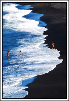 Black Sand - Canary Islands by stefano marcellini
