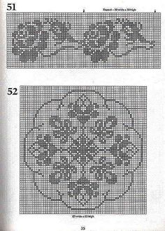 101 Filet Crochet Charts 35 | Flickr - Photo Sharing!