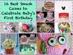 The best smash cakes for your baby's 1st birthday >> http://redtri.co/1mIpo8Q