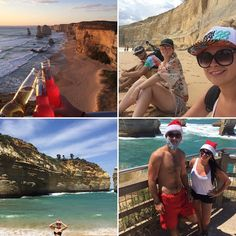 Mon Noel à moi  #australia #12apostles #noel #camping #nature #life #friends #sun #beach #santa #apero #sunset by julie_aires http://ift.tt/1ijk11S