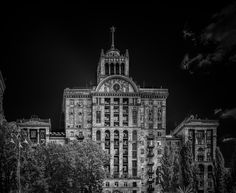 The art deco building in Kiev by John Wright on 500px