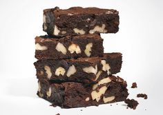 Cocoa Brownies with Browned Butter and Walnuts - Bon Appétit (except for browning butter, original recipe)