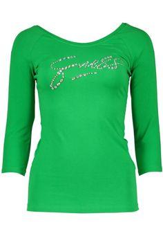 Maglia Donna Guess Jeans (BO-W62I19K0OY0 G845) colore Verde