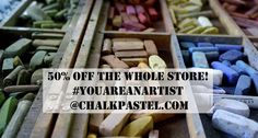 """You ARE an Artist Super Sale - Art for All Ages """"simple, step-by-step directions for oodles of chalk pastel lessons which will result in amazing artwork – even for those who don't believe they are artistically talented."""""""