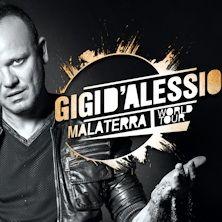 Dopo 14 tappe in Europa e altrettante date che lo vedranno impegnato per i primi mesi del 2016 in tutto il mondo, Gigi D'Alessio porterà finalmente il Malaterra World Tour anche in Italia. Scopri i dettagli su TicketOne.it!