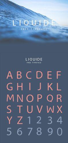 LIQUIDE Typeface Free Font