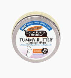 Palmers Tummy Butter for stretch marks.  I SWEAR by this!!
