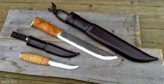 Leuku és puukko kés
