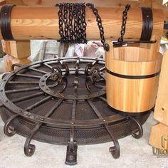 A wrought iron well cover Blacksmithing, Wrought Iron, Gallery, Cover, Outdoor Decor, Art, Home Decor, Gardens, Blacksmith Shop