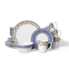 32 Piece Dinnerware Set, Service for...    $189.99