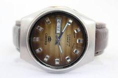 時計 セイコー5 自動巻き AUTOMATIC 70年代アンティーク J15 ¥4500円 〆03月13日