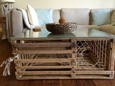 lobster trap coffee table Projects Pinterest Lobster trap