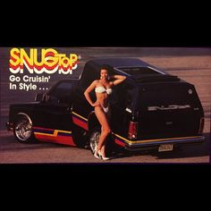 The shit. Loved this ad. #SnugTop #throwbackthursday #backintheday #lowrider #minitruck #minitrucks #oldschoolminitruck #oldschoolminitrucks #daytons #15x8 #S10 #campershell #hydros #hydraulics #tiltbed #dumpbed #90slowriders @anjabayari