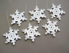 crochet snowflake | Christmas ornament
