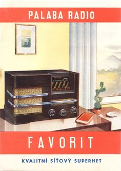 . Palaba. Aparatos de Radio. 42 ejemplos de publicidad vintage