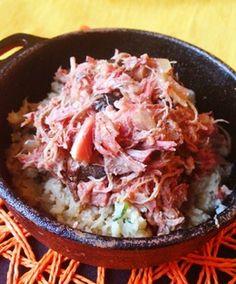 slow cooked feijoada