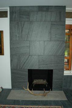 Slate Fireplace Surround fireplaces