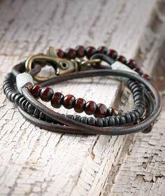 Effortlessly Cool Men's Accessories - Manifold Wrist-Wear - Carbon2Cobalt