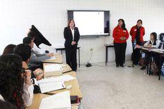 INEA CAPACITA A ALUMNOS DE LA ESCUELA NORMAL MIGUEL F. MARTINEZ LIVAS Los alumnos se reportan listos para empezar la Campaña Nacional de Alfabetización.