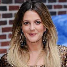 Drew Barrymore-Ombre Hair
