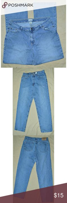 """St Johns Bay Stretchboot jeans SHORT INSEAM 18WS St Johns Bay Stretchboot jeans SHORT INSEAM 18WS  Excellent condition  Size 18WS  Measurements are approximate and were taken with garment laying flat.  Waist: 16"""" Inseam: 28"""" Outseam: 39"""" Front Rise: 6 1/2"""" Hips: 21""""  *Item is used     (103) St. John's Bay Jeans Boot Cut"""