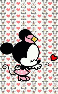 Image via We Heart It https://weheartit.com/entry/145189053 #cute #minniemouse #wallpaper