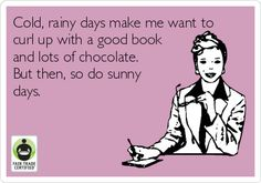 Can you relate? Happy Friday #FairTrade-rs! #chocolate #TGIF