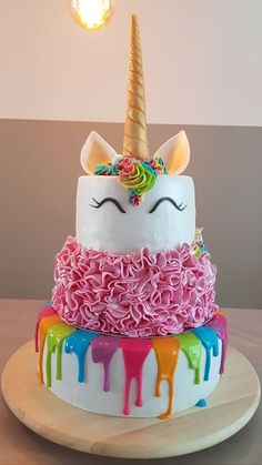 Pasteles unicornio   #doityourself #gadget #bedrooms #kitchen #garage #sales