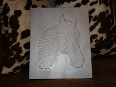 Horse String Art by TheRusticTexan on Etsy I have a new item for sale! Check it out!