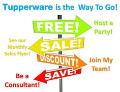 Contact me for all of your Tupperware needs or to join my team