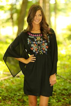 Welcome To My Empire Dress-Black - $46.00