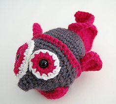 Fish Doll | $4.00  by Jessica Schleicher