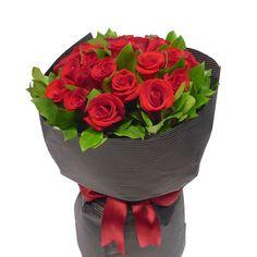 18 Long Stem Rose Bouquet