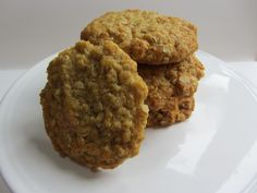 Vegan hobnobs (sub butter with half applesauce and half coconut oil)