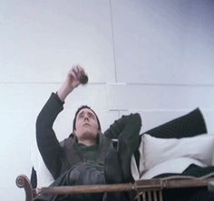 Loki TDW *gif* You can't actually see the gif restart..... weird. Just looks like he's doing it over and over.